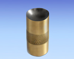 Diamond-Coated-Brass-Cone